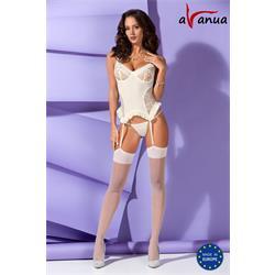Bianca Corset Ecru S/M - Avanua