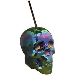Skull Cup Oil Slick Clave 6