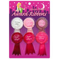 Bride To Be Award Ribbons Clave 6