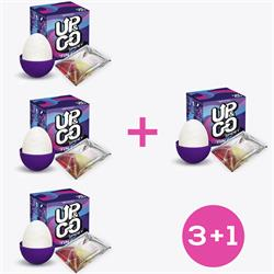 Pack 3+1 Up & Go Spidey Fun Egg Purple