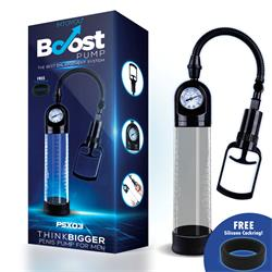 PSX03 Boost Penis Vacuum Pump Crystal