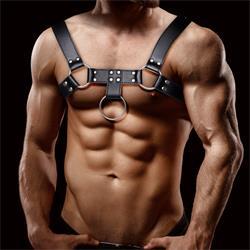 Quovis Light Chest Bondage Harness for Men