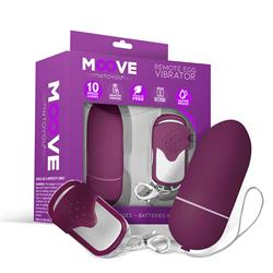 Remote Egg Vibrator Dark Purple