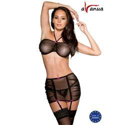 VASPER SET black S/M - Avanua