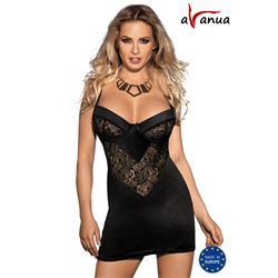 LEIS CHEMISE black S/M - Avanua