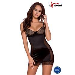 HANAN CHEMISE black S/M - Avanua