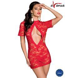 RIKA CHEMISE red S/M - Avanua
