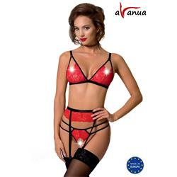 SALOME SET red S/M - Avanua