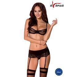 MELEK SET black S/M - Avanua