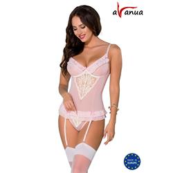 SISI CORSET pink S/M - Avanua