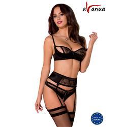 HANAN SET black S/M - Avanua
