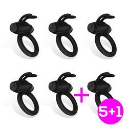 Pack 5 +1 Nepture Anillo Vibrador
