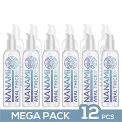 Pack de 12 Nanami Anal Lubricant Thick 150 ml.