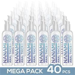 Pack de 40 Nanami Anal Lubricant Thick 150 ml.