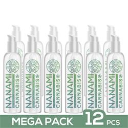 Pack de 12 Nanami Water Based Lubricant Cannabis