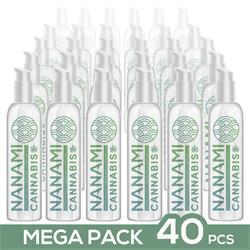 Pack de 40 Nanami Water Based Lubricant Cannabis 1
