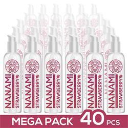 Pack de 40 Nanami Water Based Lubricant Strawberrl