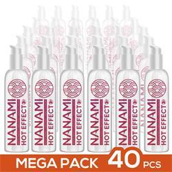 Pack de 40 Nanami Water Based Lubricant Hot Effec.