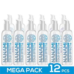 Pack de 12 Nanami Water Based Lubricant Cold Effe.