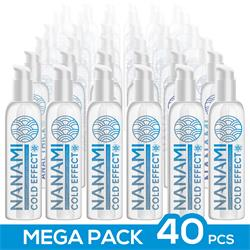 Pack de 40 Nanami Water Based Lubricant Cold Effe.