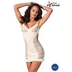 Bianca Chemise Ecru S/M - Avanua