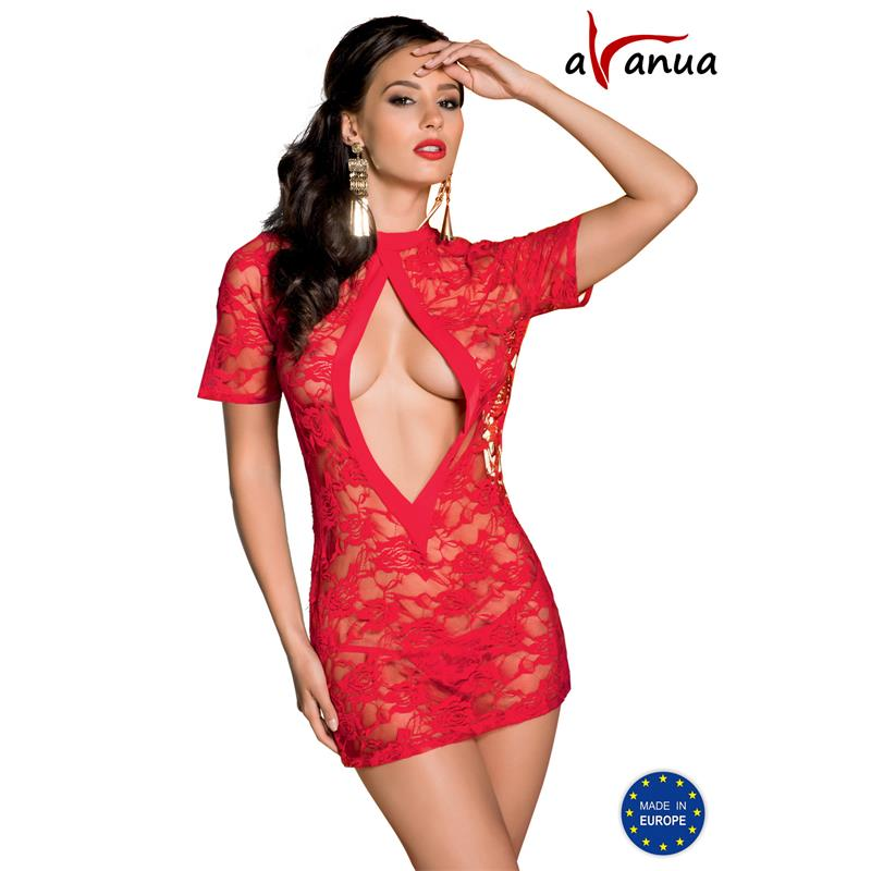 Rika Chemise Red