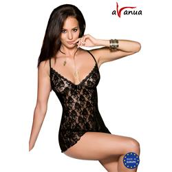DAIVA CHEMISE black S/M - Avanua