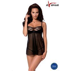 REBECCA CHEMISE black S/M - Avanua