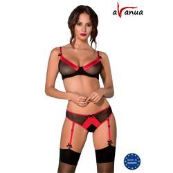 CYRA SET black S/M - Avanua