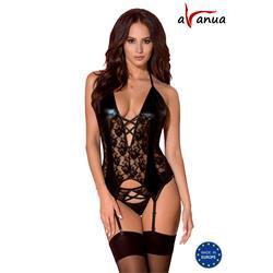 HESSA CORSET black S/M - Avanua