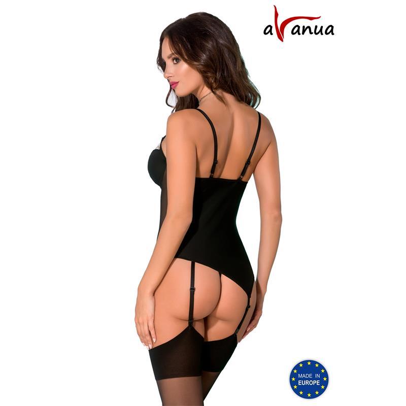 Rania Corset Black