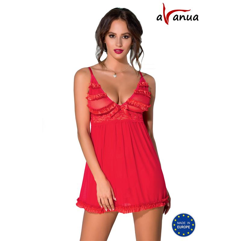 ZAFIRA Chemise Red