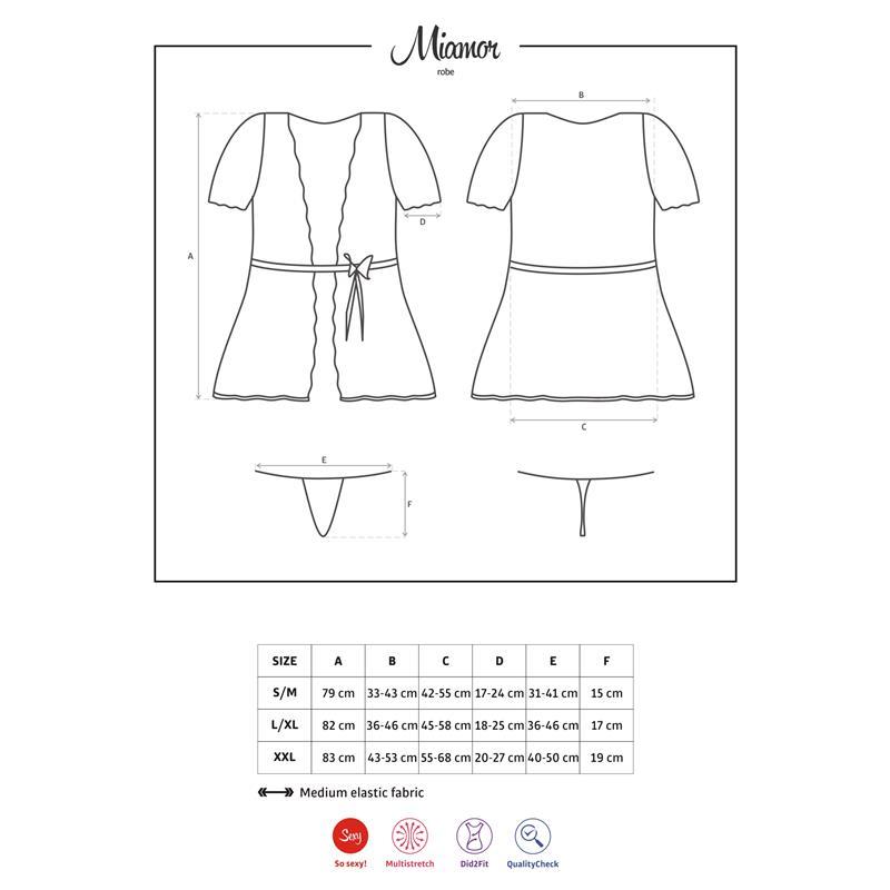 Miamor Kimono White