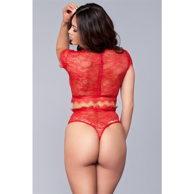 Kayla 2 Pieces Set Red