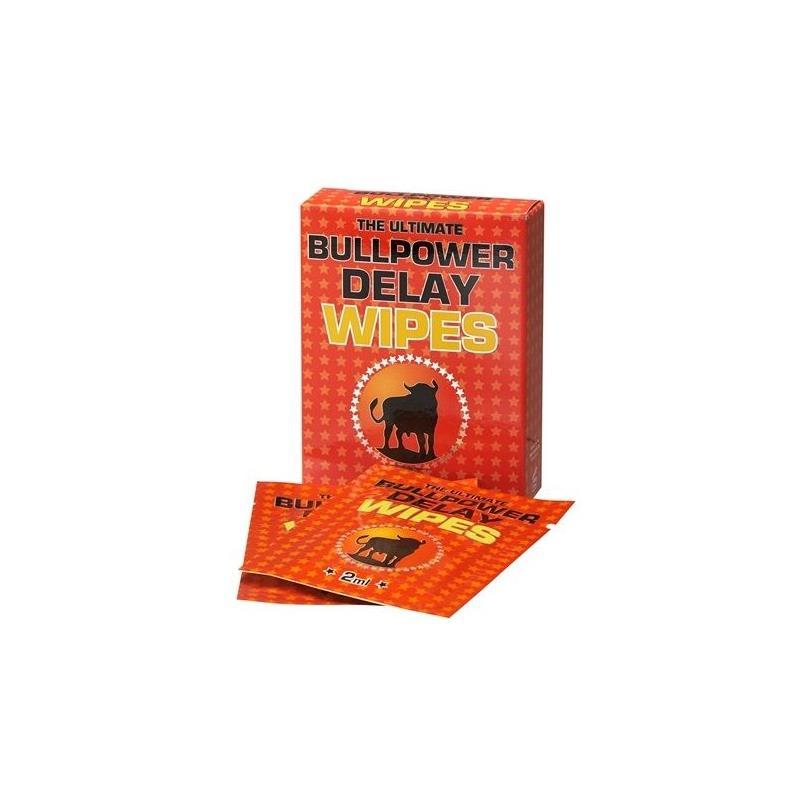 Bull Power Wipes Delay 6 x 2 ml