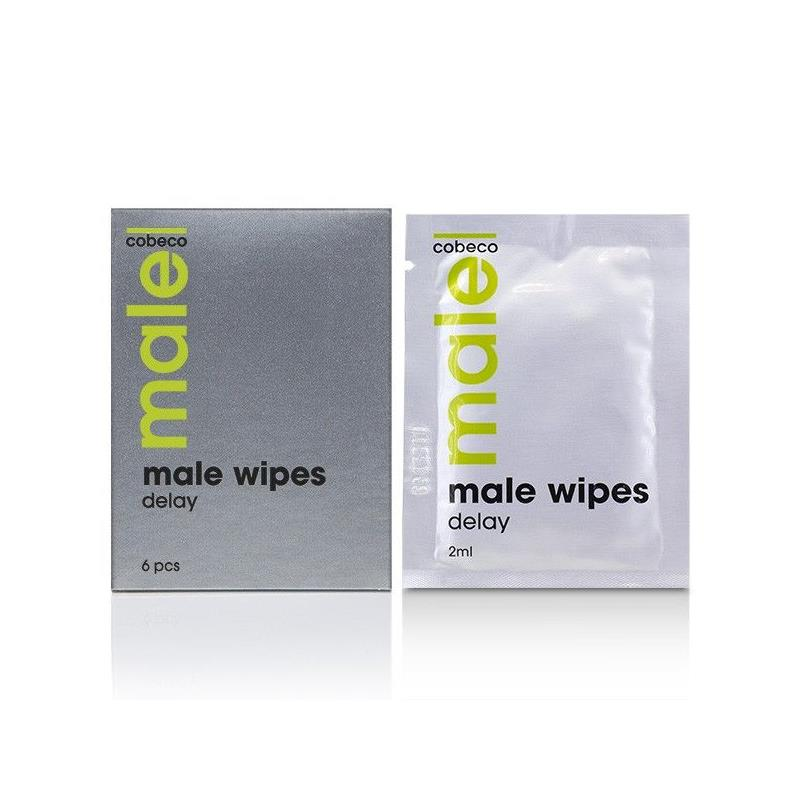 Male Wipes Delay 6 x 2.5 ml