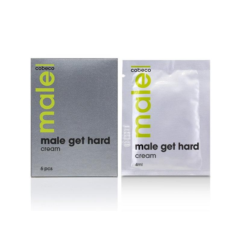 Male Get Hard Booster Sachets 6 x 4 ml