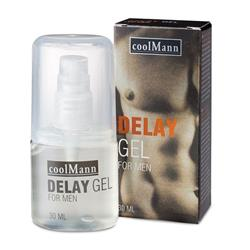CoolMann Delay Gel (30ml) (en/de/es/fr/it/nl)