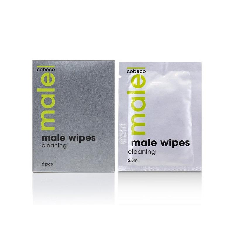Male Wipes Cleaning 5 x 5 ml