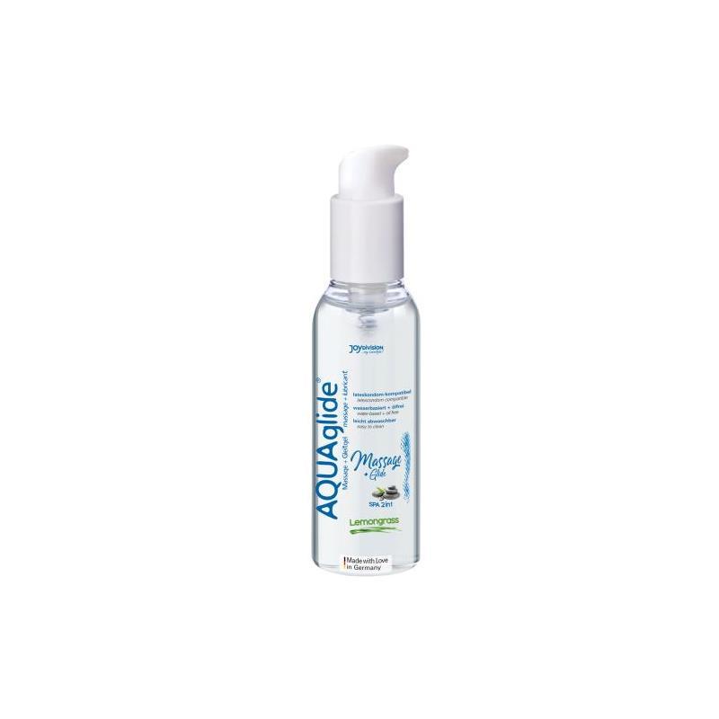 Massage Gel and Water Based Lubricant 2 in 1 Lemongras 200 ml