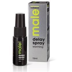 MALE Cobeco Delay Spray Warming (15ml) (en/de/fr/e