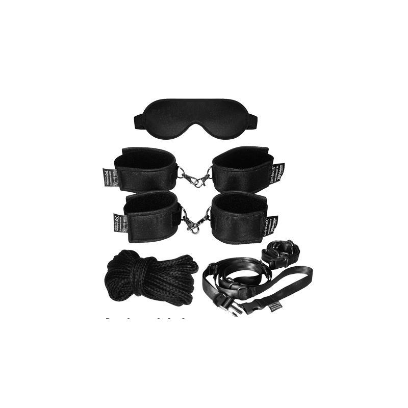 Soft Bond X Mega Cuff Set - Black