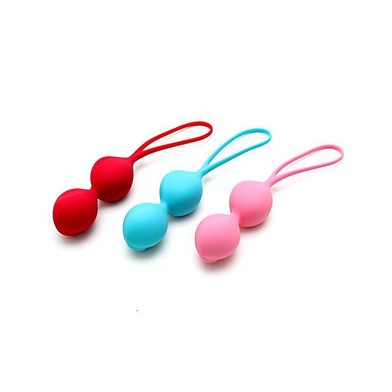 Pack of 3 Ben-Wa Balls V-Balls 2020 Version Silicone