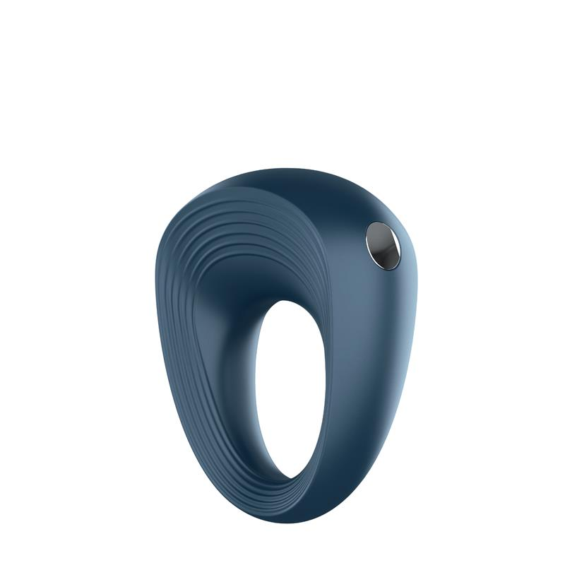 Vibrating Cock Ring Dark Blue