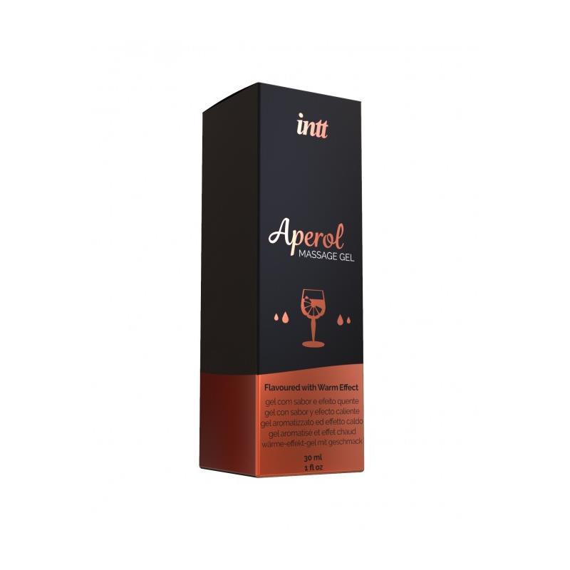 Massage Fel Aperol Flavor Heat Effect 30 ml