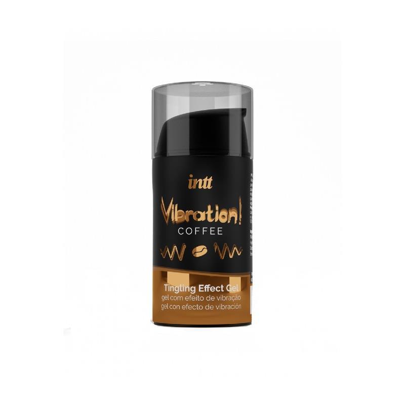 Liquid Vibrator Heat Effect Coffee Flavor 15 ml