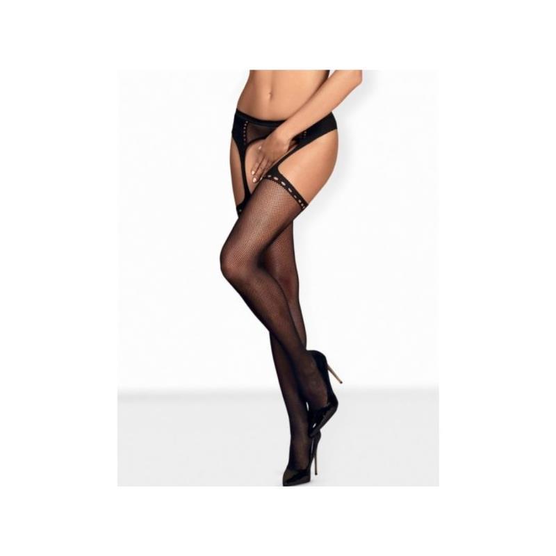Garter Stockings S314 One Size Black
