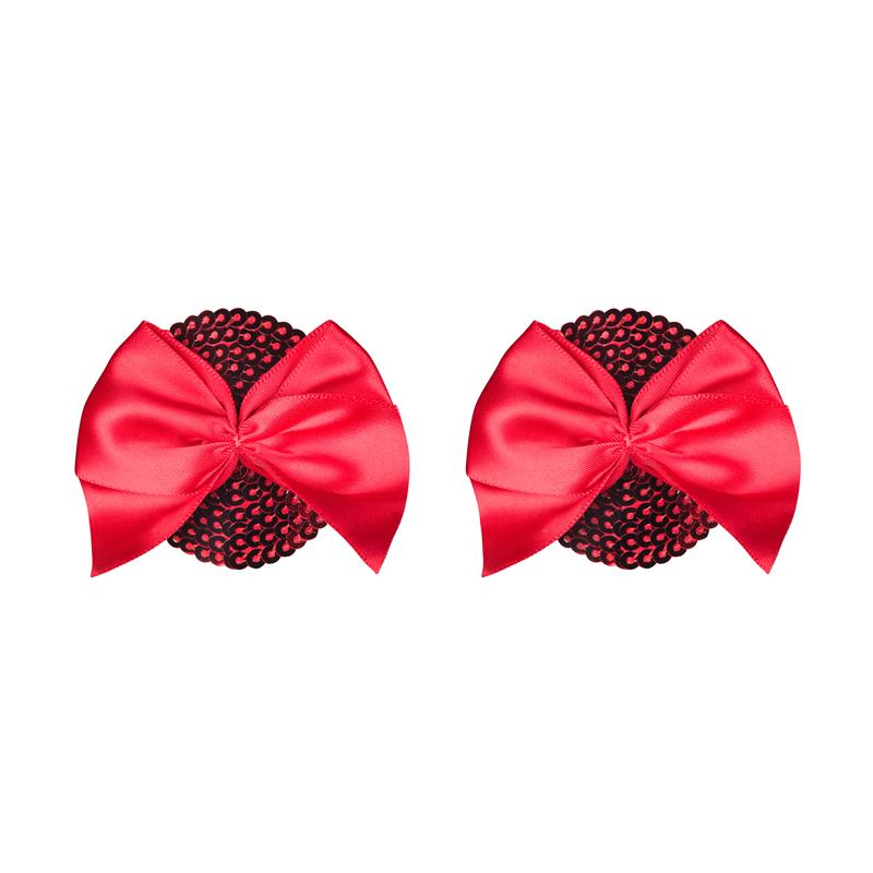 Giftella Nipple Covers Red