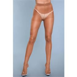 Skin To Skin High-Waist Pantyhose - Beige