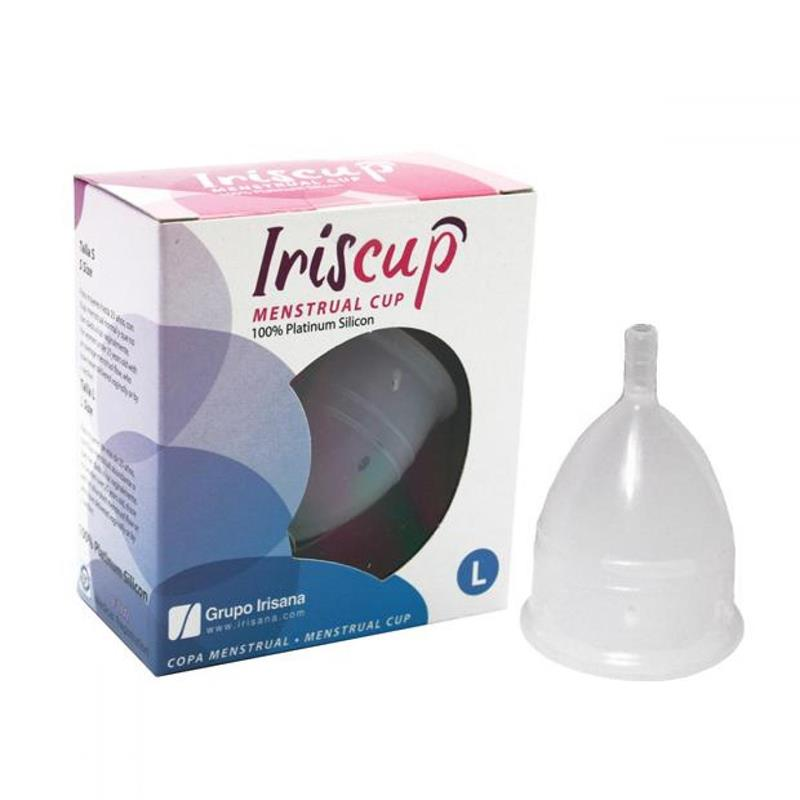 Irisana Menstrual Cup Clear Size L